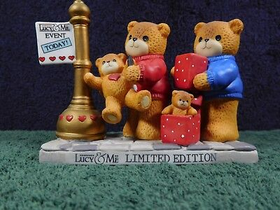 Vintage Enesco Lucy & Me Bears Limited Edition