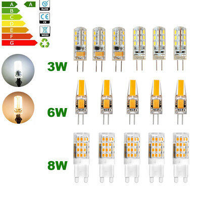 G4 Led Bulb 3W 6W 12V G9 8W 220V SMD Lamp Replace Halogen Light Dimmable X5 X10