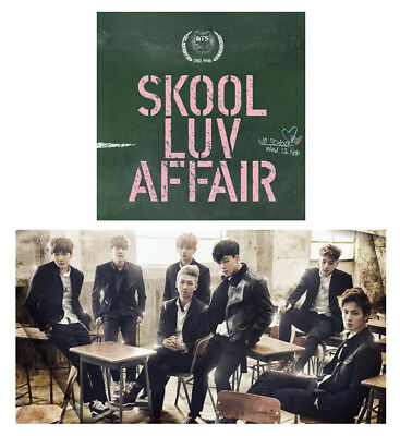 BTS 2nd Album [SKOOL LUV AFFAIR] BANGTAN BOYS Music CD+Photobook+Photocard+Gift