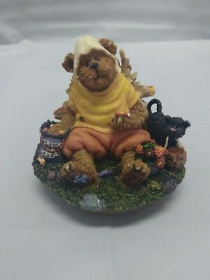 """Boyds Candle Topper """"Candy B Corn with Scardy Cat"""" New 2004 - #651235"""