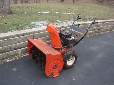 Ariens 2 Stage ST1032 Power Throw Snowblower 10 HP Electric Start LOCAL PICKUP