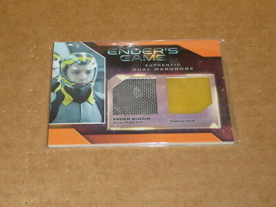 2014 Cryptozoic ENDER'S GAME ENDER WIGGIN FLIGHT SUIT TRAINING PADS E2148