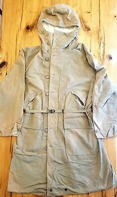 WWII US Army 10th Mountain Parka Reversible Snow Camo Size 44-46 L-XL - Vintage