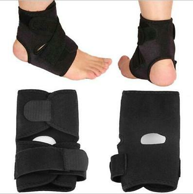 Breathable Elastic Ankle Brace Protector Adjustable Bandage Ankle Support Pad