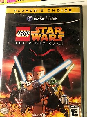 Nintendo Gamecube Video Game Lego Star Wars The Video Game Complete