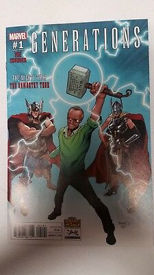 GENERATIONS THOR #1 Stan Lee cover