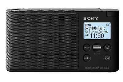 Sony Portable DAB/DAB+ Radio- Black- XDR-S41D