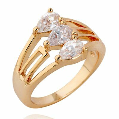 Korean Fashion Hollow Out Female Clear Zircon Brand Ring Engagement Rings NZ