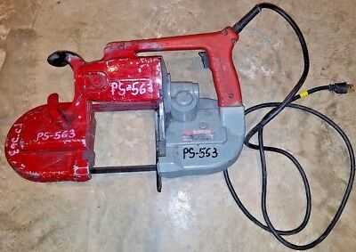 Milwaukee 6230 Corded Heavy Duty Portable Deep Cut Band Saw !WITH THE BLADE!