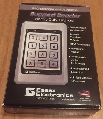 Essex Electronics KTP 12 Pad 3x4 Rugged Reader Heavy Duty Keypad