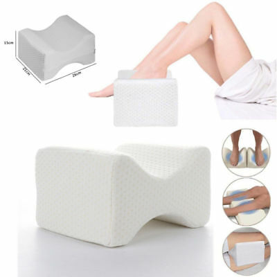 Contour Memory Foam Leg Pillow Orthopaedic Pillow Back Hips Knee Support Cover &