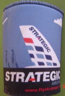 Strategic Airlines  Wet suit Type Stubby Holder as New Preloved  Condition