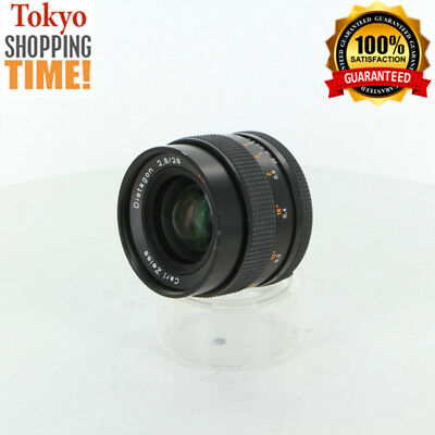 [EXCELLENT+++] CONTAX CARL ZEISS Distagon T* 28mm F/2.8 MMJ Lens Japan