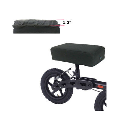 """Knee Scooter Seat Cover Walker Knee Pad 1.2"""" Foam Padding Cushion Accessory"""