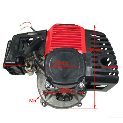 49cc 2Stroke Complete Engine Motor for Mini Pocket Scooter Pull Start Quad Buggy