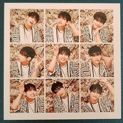 V - Official Photocard BTS In The Mood for Love 3rd Album Kpop