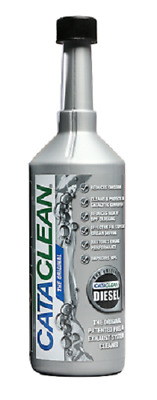 NEW! CataClean Diesel Fuel Car Engine DPF Exhaust System Catalytic Cleaner 500ml