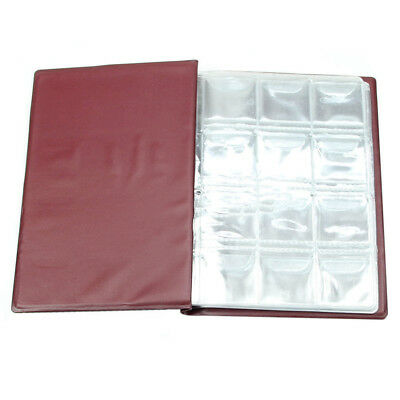 BL_ 120 Coin Holder Money Storage Pockets Penny Collection Album Book Collecting