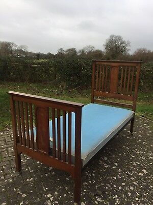 vintage vono single bed frame and base - collection from wells in somerset