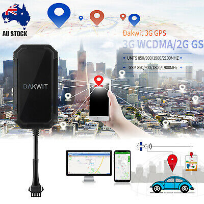 3G GPS Tracker Real live Time Tracking Device Vehicle Caravan Car Yacht Boat AUS