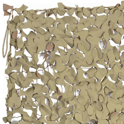 Army Desert Camo Netting, Complete Individual Size Net, NEW, 8ft x 8ft