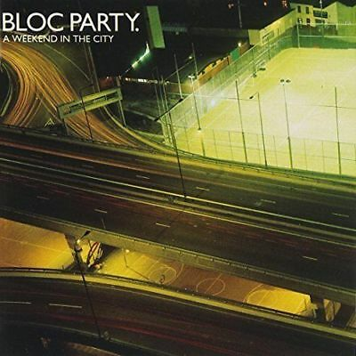 Bloc Party A Weekend In The City (2007 CD) New Album  Gift Idea