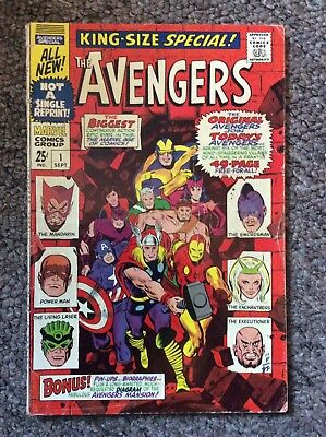 Avengers King Size Special 1