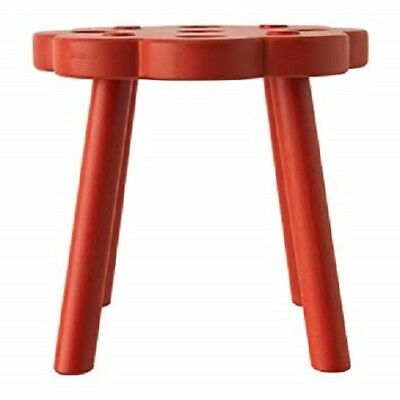 IKEA Ryssby 2014 Red Children's Stool (discontinued by IKEA)