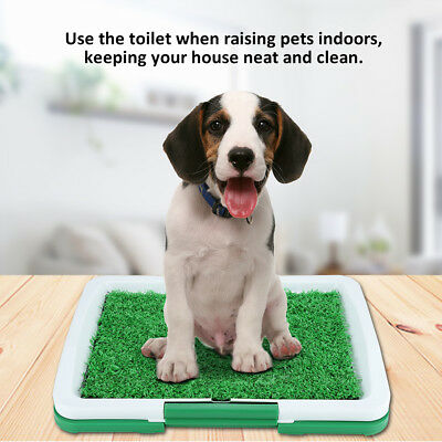 Puppy Potty Training Pad Mat Pet Toilet Trainer Dog Litter Tray Indoor House New