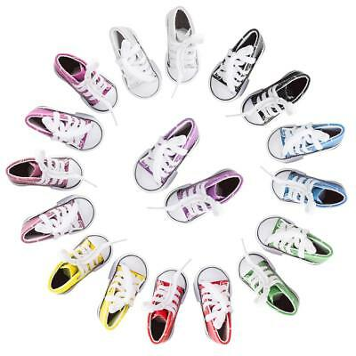 7cm*3cm Doll Canvas Shoes Fits 18 Inch American Girl ~H j