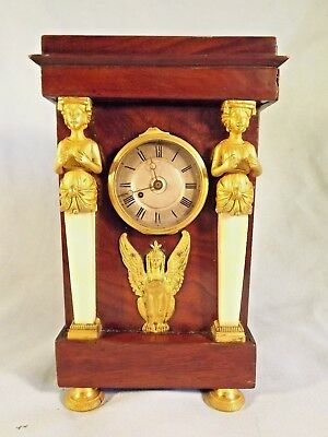Fabulous Small French Empire Clock Verge Movement.