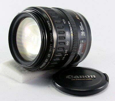 【AS-IS】 Canon EF 28-105mm f/3.5-4.5 USM Lens from Japan!