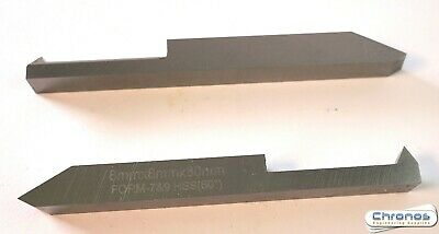 Pack of Two HSS Threading Tools Metric & Imperial 8mm (Ref: 136210)