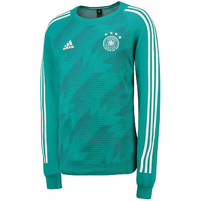 Official Germany Knitted Football Away Shirt Jersey Tee Top 2018 Long Sleeve