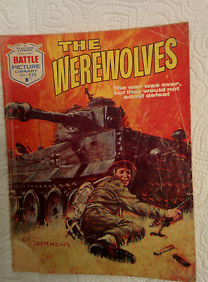 """Battle Picture Library #420 """"THE WEREWOLVES"""""""