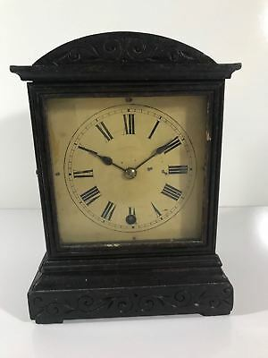 Vintage Mantel Clock W&H SCH Winterhalder and Quinett Jewler