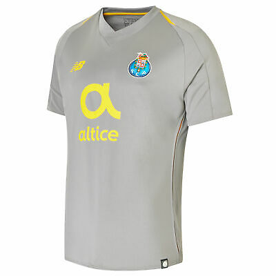Official FC Porto Football Away Shirt Jersey Tee Top 2018 19 Mens New Balance