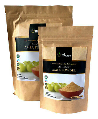 Amla Powder -Organic USDA Hair Condition Emblica Officinallis 100g-1Kilo (ns)