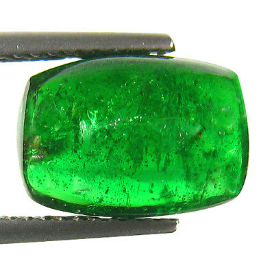 5.21Ct GORGEOUS ! STUNNING UNHEATED 100%NATURAL DEEP GREEN TSAVORITE GARNET