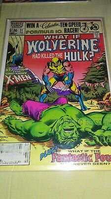 What If? #31 (Feb 1982, Marvel Comic) What if Wolverine Killed the Hulk? Mint