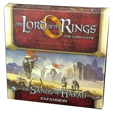Lord of the Rings LCG, Sands of Harad Expansion, New and Sealed