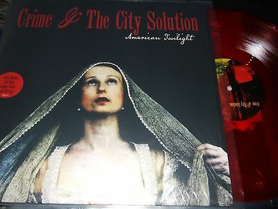 Crime&the City Solution : American Twilight Limited Edition Red Vinyl Lp+Cd