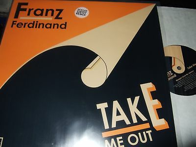 "Franz Ferdinand : Take Me Out Morgan Geist Remix 12"" 2004 Domino Uk"