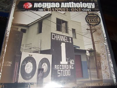 Reggae Anthology The Channel One Story 3Lp 2004 Vp Usa