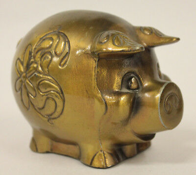 Metal Piggy Bank, First Federal Savings and Loan, Port Angeles Sequim Wash