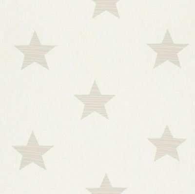Star Wallpaper Stars Kids Teen Children's Bedroom Planets Beige Blue Rasch