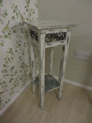 Wooden Plant Stand and Table Excellent Condition