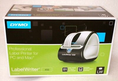 Dymo LabelWriter 450 Label Printer with ALL Cables - Model 1750110
