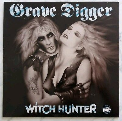 GRAVE DIGGER - Witch Hunter LP / EX Zustand / NOISE RECORDS D 85
