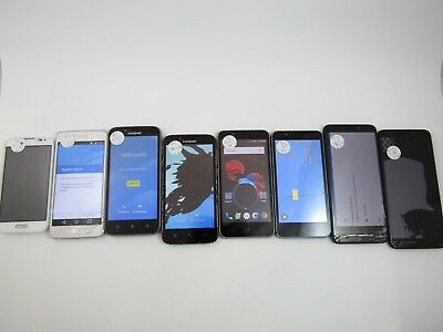 Lot of 8 Assorted Parts & Repair MetroPCS Check IMEI PR 3-698